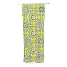 "KESS InHouse Miranda Mol ""Budtime"" Decorative Sheer Curtains, 30 by 84-Inch Kess InHouse http://www.amazon.com/dp/B00OVZ53ES/ref=cm_sw_r_pi_dp_kXwtub08VFN2N"