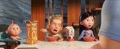 Jack Jack, Dash and Violet Disney And Dreamworks, Disney Pixar, Walt Disney, Disney Animation, Disney Incredibles, The Incredibles 2004, Pixar Movies, Disney Movies, Disney Stuff