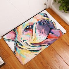 Sothread 40x60cm Soft Nonslip Rectangle Dog Printed Carpet Mats Bath Area Rug Doormats K. * You can find out more details at the link of the image. (This is an affiliate link) #PatioModernFurniture