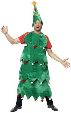 Disfraz de árbol de Navidad para adulto : Vegaoo, compra de Disfraces adultos. Disponible en www.vegaoo.es