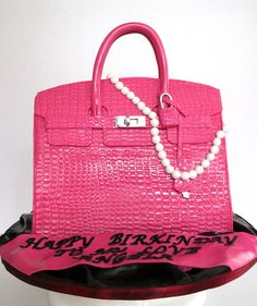 Hermes Birkin Bag Cake