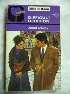Difficult Decision Janet Dailey Mills & Boon Vintage pb A90  | eBay