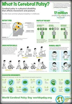 What Exactly Is Cerebral Palsy? (Infographic)