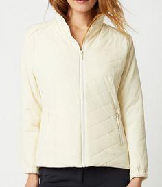 GGblue Ladies & Plus Size Jocelin Long Sleeve Full Zip Golf Jackets - ESSENTIALS (Assorted Colors)