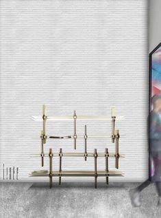 LINÉE Par Ophélie Jean-Louis Promo 2016  Bibliothèque  #ecolebleue #ecolebleueglobaldesign #designglobal #globaldesign #design #designer #youngdesigner #jeunedesigner  #bibliothèque