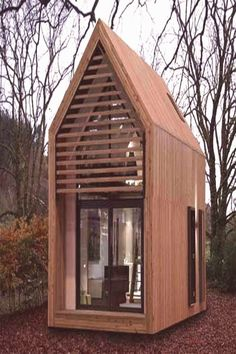 Tiny House Talk, Tiny House Blog, A Frame Cabin, A Frame House, Tiny House Movement, Shed Design, Tiny House Design, Home Music, Modern Modular Homes