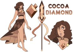 Cocoa Diamond by Deer-Head.deviantart.com on @DeviantArt