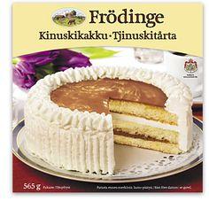 Kinuskikakku  Frödinge Mejeri Vanilla Cake, Tiramisu, Ethnic Recipes, Desserts, Food, Tailgate Desserts, Dessert, Postres, Tiramisu Cake