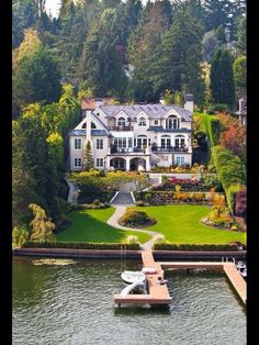 Waterfront mansion love the surroundings