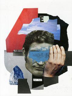 for her - andrei cojocaru - collage, illustration, design