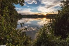 Sunset at the Lake by Thomas Mayrhofer on 500px