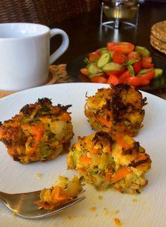 Veggie Muffins--just veggies!