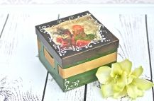 Decoupage krok po kroku - weneckie pudełko