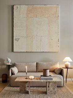 Interior Styling, Interior Design, Pile Of Books, Modern Restaurant, Sweet Home, Lounge, Shelves, Living Room, Beach Houses