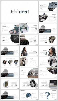**Boonerd - Presentation Template** is a Minimalist, Creative, Unique presentation template for commercial enterprise or personal use, creative industry, business and many more. Creative Powerpoint Presentations, Powerpoint Design Templates, Presentation Design Template, Booklet Design, Presentation Layout, Book Design Layout, Design Layouts, Flyer Template, Portfolio Layout