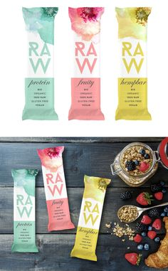 Raw Bar Branding and Packaging