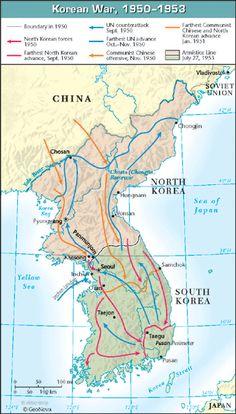 Korean War: 1950 - 1953