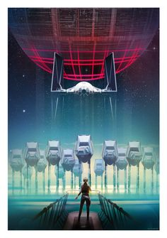 Star Wars: Rogue One - Created by Andy Fairhurst Part of the Rogue One Tribute at Poster Posse. Check it out here.