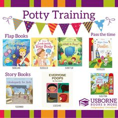 Potty Training help from Usborne Books and More! #pottytraining