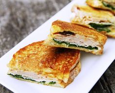 Turkey, Mango Chutney, and Brie Panini. I can't wait for te cooler weather to finally hit here so I can savor warn paninis for lunch...