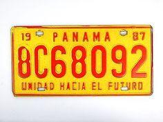 Autokennzeichen Panama