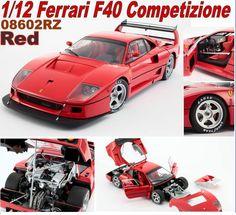 Kyosho Ferrari F40 Competizione - Red (1-12 scale)
