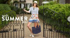 Cute stripes and floral. Summer 2014 Catalog Page 1 | Tuckernuck, preppy clothing