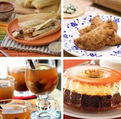 ¡Tamales de carne deshebrada, empanadas, ponche y un riquísimo flan! Estos son los platillos ideales para Nochebuena, que harán de tu cena una celebración placentera.