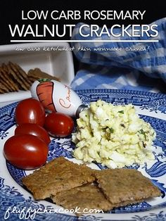 Keto Walnut Cracker Recipe