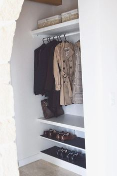 5 steps to success: build your own wardrobe with shoe rack, ., 5 steps to success: build your own wardrobe with shoe rack, . Decoration Entree, Decoration Ikea, Closet Ikea, Closet Bedroom, Diy Kallax, Build Your Own Wardrobe, Kitchen Ikea, Steps To Success, Shoe Storage