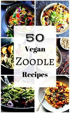 #mouthwatering #inter... Vegan Zoodle Recipes