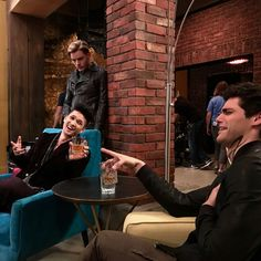 Malec having fun but its Jace? (Bts)