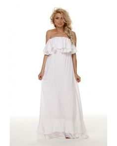 Купить длинное хлопковое платье