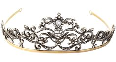 Modern Tiara, The Netherlands (ca. 1990; diamonds, gold, sterling silver).