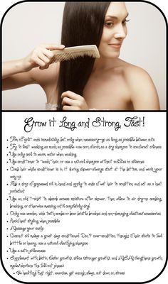 Grow Hair Long and Strong
