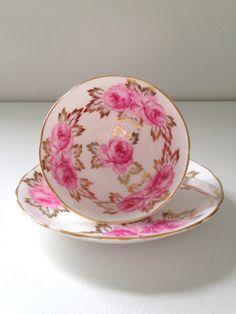 Antique English Royal Chelsea Rose Pattern Fine by MariasFarmhouse, $99.00