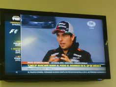 Sergio Perez is a busy boy this week!