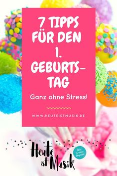 Erster Geburtstag: warum der ein Fest für die Eltern ist The first birthday is something special for babies and parents. So that the party is stress-free and beautiful, I have seven tips for you Parenting Teens, Kids And Parenting, Baby Party, Baby Shower Parties, Baby Co, Baby Kids, Boy First Birthday, Birthday Gifts, Unicorn Birthday