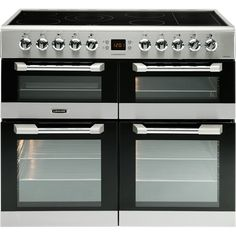 Leisure Dual Fuel Gas Hob with Griddle Zone / Electric Ovens with Ceramic Zone Freestanding Cuisinemaster Electric Range Cookers, Dual Fuel Range Cookers, Gas And Electric, Gas Cookers, Best Oven, Fun Cooking, New Kitchen, Kitchen Ideas, Kitchens