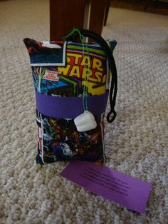 Tooth Fairy Pillow with tooth holder Star Wars by suespecialtyshop, $6.95