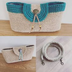 Japanese Crochet Bag, Purse Patterns, Knitting Patterns, Crochet World, Crochet Purses, Crochet Bags, Best Bags, Love Crochet, Knitted Bags
