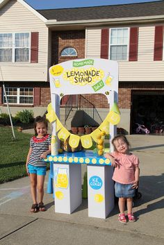 Cute Lemonade Stand Idea