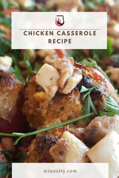 This chicken casserole recipe is a healthy recipe for the family. Healthy comfort food to savor with a good bottle of light red wine. This yummy chicken recipe can be served both for lunch and dinner. #summercomfortfood #amazingchickenrecipes #recipeforchickencasserole #onepotmeals #onepotdinnerrecipe #winepairingswithfood Yummy Chicken Recipes, Potato Recipes, Lunch Recipes, Easy Dinner Recipes, Wine Recipes, Dinner Ideas, Healthy Recipes, Best Comfort Food, Healthy Comfort Food