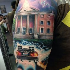 back to the future tattoo