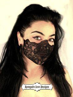 Dancer https://www.etsy.com/listing/174721662/black-lace-mask-fetish-lingerie-fantasy