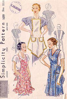 apron #SimplicityPattern