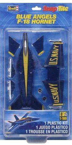 Airplane Model Kits - Revell SnapTite FA 18 Super Hornet *** Click image for more details.