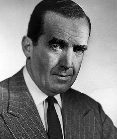 EDWARD R. MORROW (Broadcast Journalist)  BIRTH:  April 25, 1908 in Guilford County, North Carolina, U.S.A.  DEATH:  April 27, 1865 in Pawling, New York, U.S.A.  CAUSE OF DEATH:  Lung Cancer  CLAIM TO FAME:  News Broadcasts of World War II