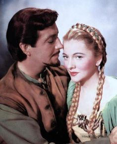 Ivanhoe (1952) Robert Taylor and Joan Fontaine