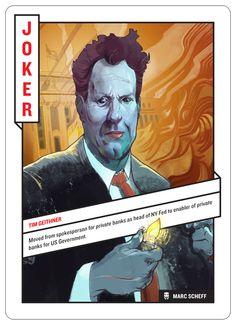 52 Shades Of Greed by Daniel Nyari, card set